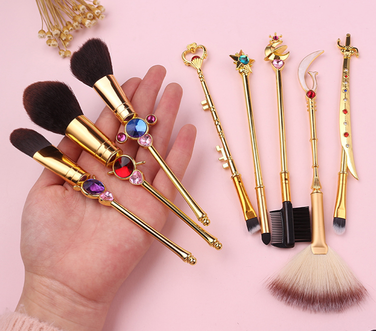 Soft Girl Makeup Brush Suit