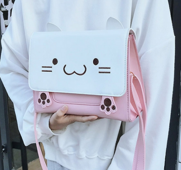 Kawaii Kitty Bag