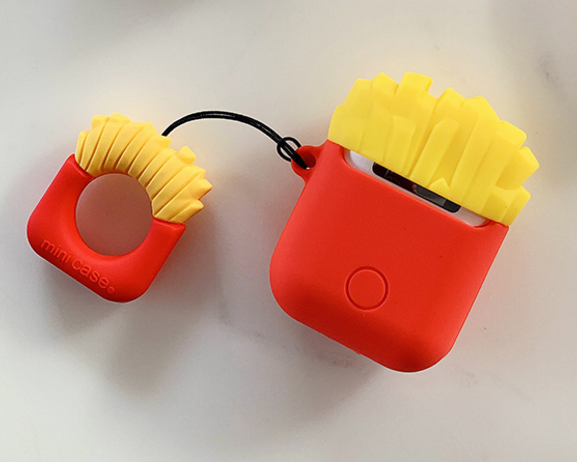 Chips And Hamburg Airpods Protector Case For Iphone