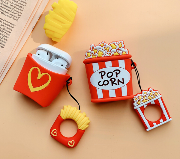 Popcorn Airpods Protector Case For Iphone
