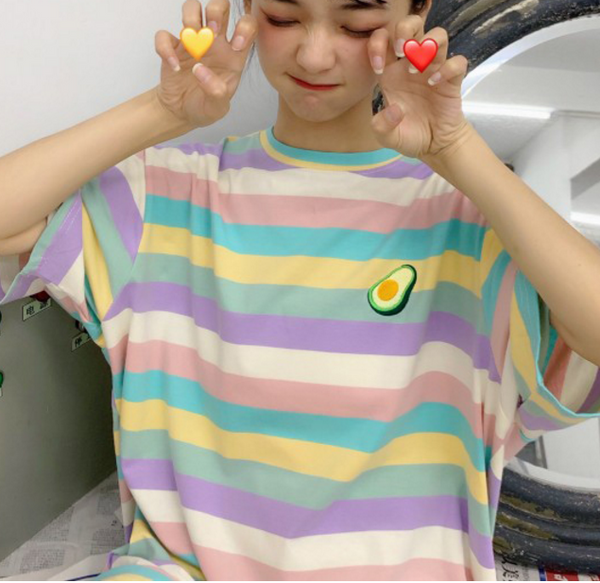 Rainbow Fruits T-shirt