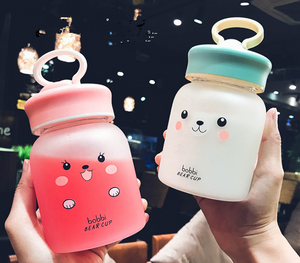Kawaii Face Drinking Bottle