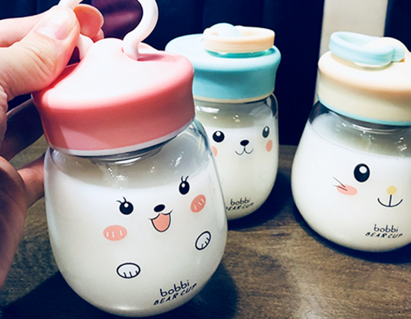 Fat Kawaii Face Drinking Bottle