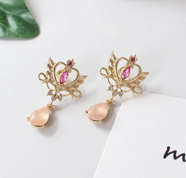 Cute Crown Earrings