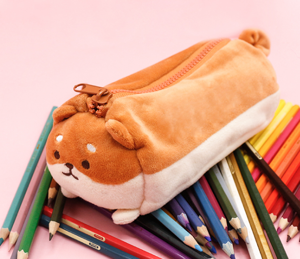 Kawaii Dog Pencil Case