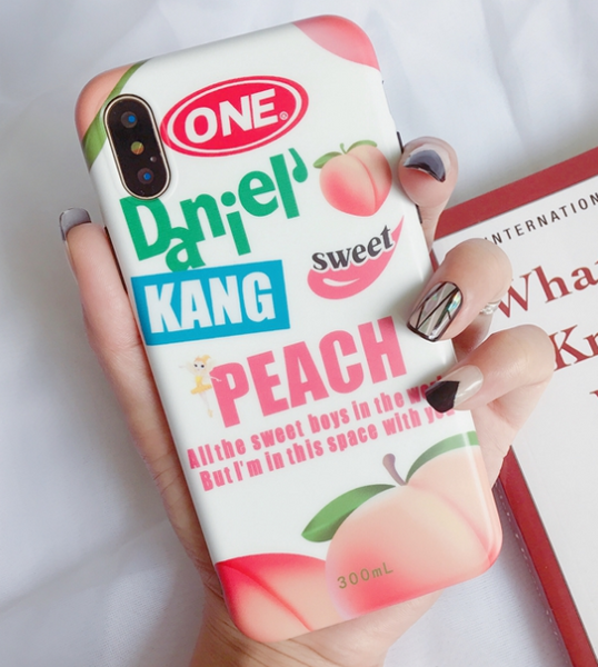 Peach Phone Case For Iphone6/6s/6p/7/8/7/8plus/X