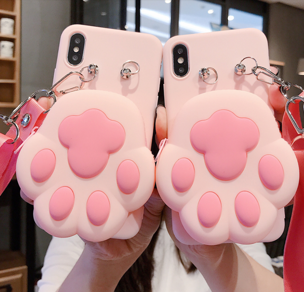 Paw Phone Case For Iphone6/6s/6p/7/8/7/8plus/X/XS/XR/XSmax/11/11pro/11proMax