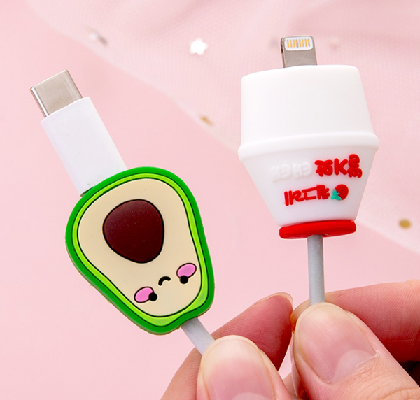 Kawaii Yummy Iphone Charger Protector