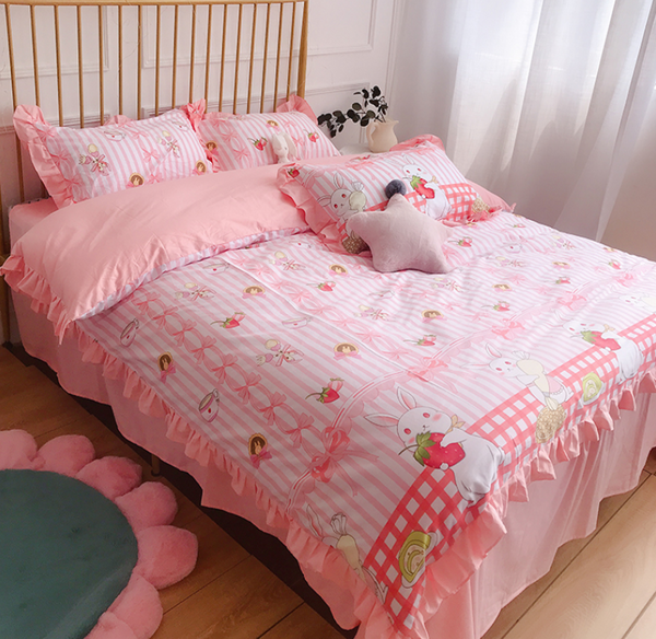 Sweet Printed Bedding Set