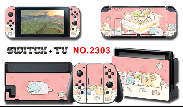 Kawaii Switch Sticker