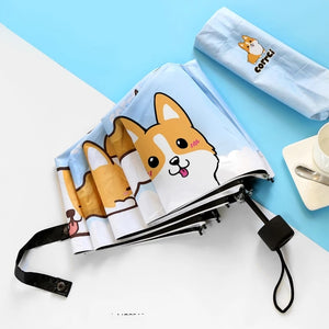 Kawaii Dog Umbrella