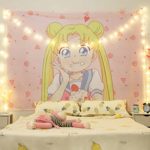 Sweet Usagi Bedside Cloth