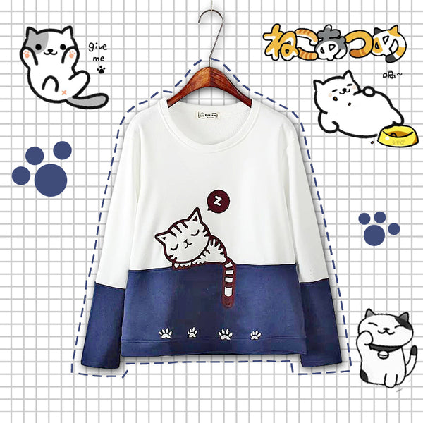 Cute Cat Hoody