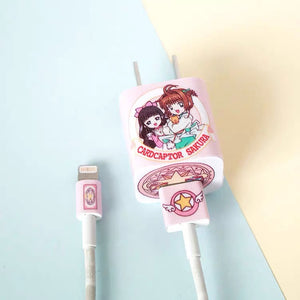 Sakura Charger Sticker For Iphone