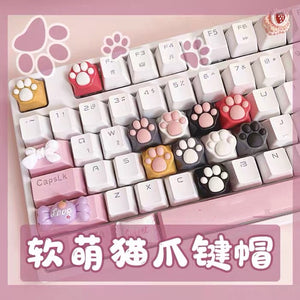 Kawaii Paw Handmade Keyboard Cap