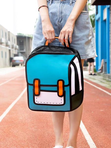 Funny Printed Backpack
