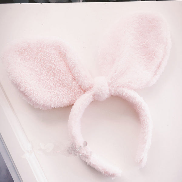 Big Ear Plush Headband