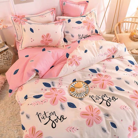 Sweet Flowers Bedding Set