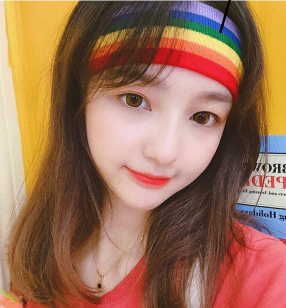 Rainbow Hair Band