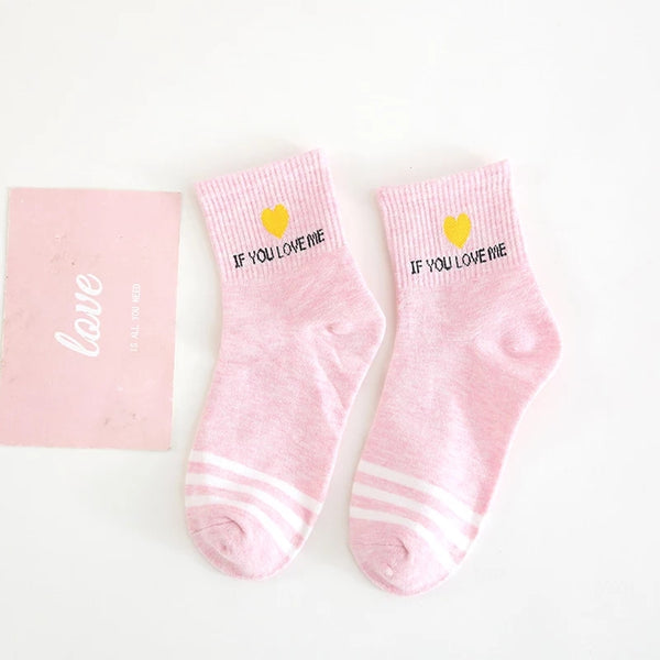 If You Love Me Socks