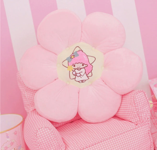 Anime Flower Cushion