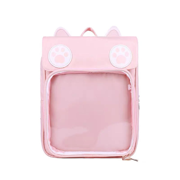 Kawaii Paw Backpack