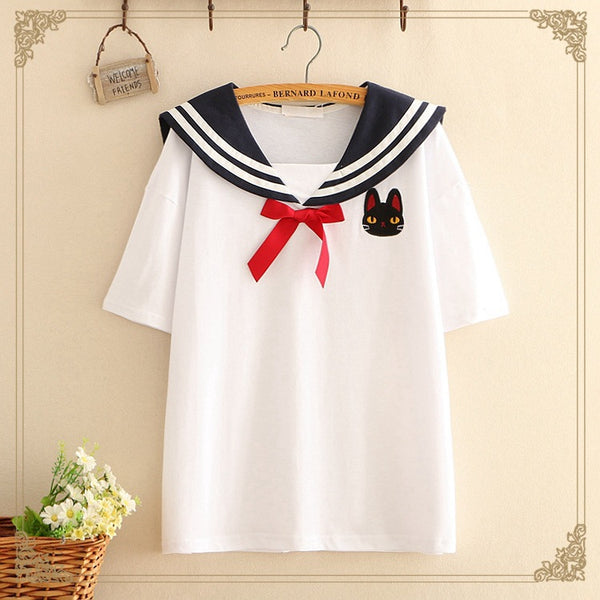 Sailor Cat T-shirt