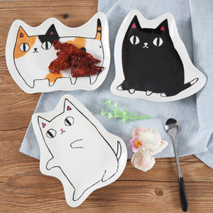 Kawaii Cat Plate