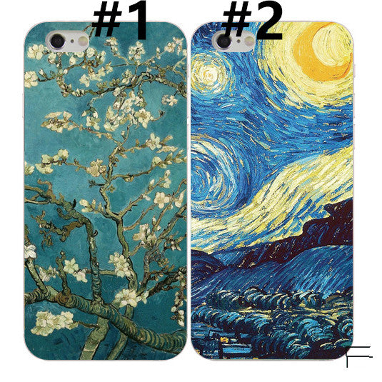 Oil Painting Phone Case For Iphone6/6S/6Plus/7/7Plus8/8plus/X/XS/XR/XSmax/11/11pro/pro max