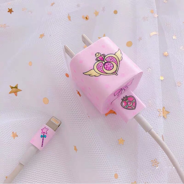 Sailor Moon Charger Sticker For Iphone