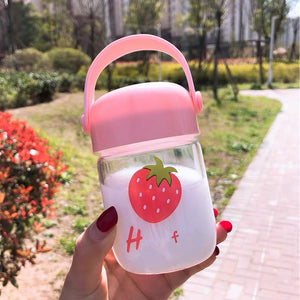Cute Fruit Drinking Bottle