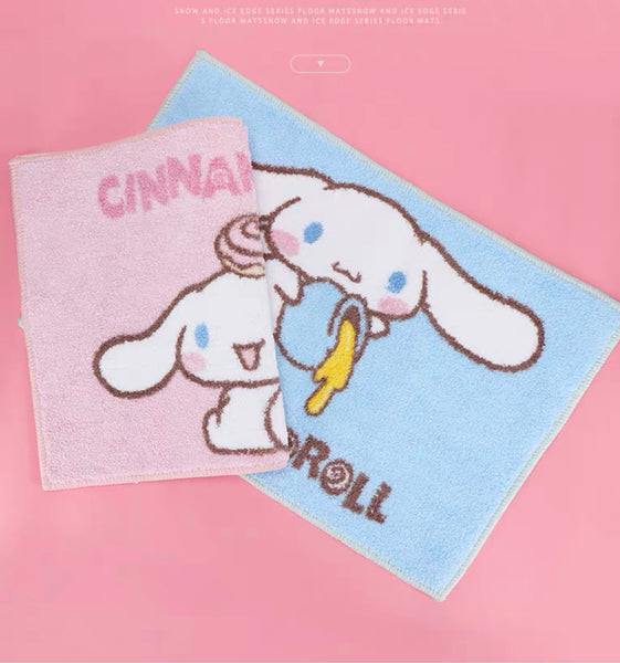 Happy Cinnamoroll Floor Mat