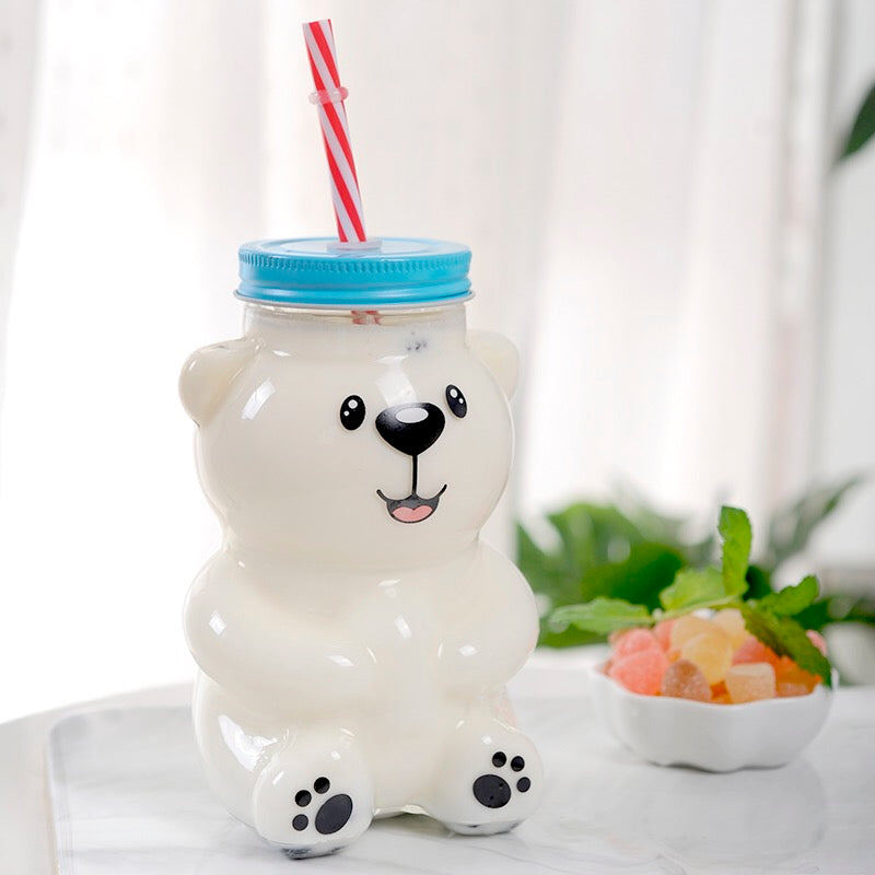 Cute Bear Drinking Bottle