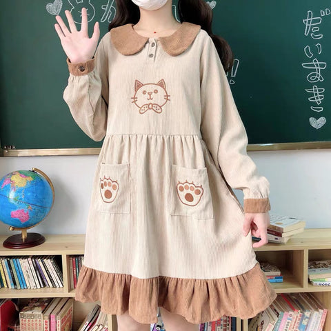 Kawaii Cat Dress