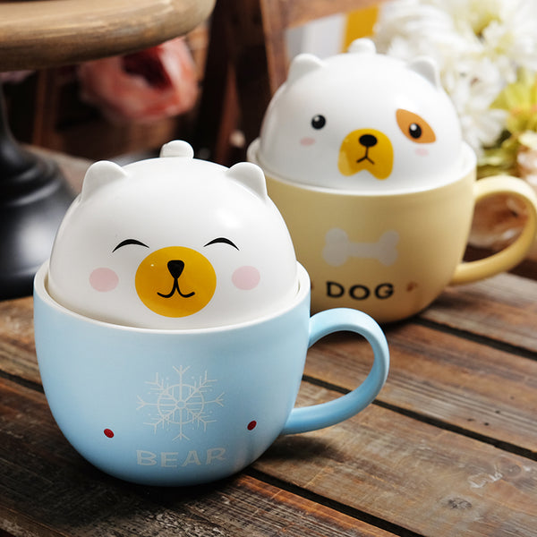 Kawaii Animal Cup