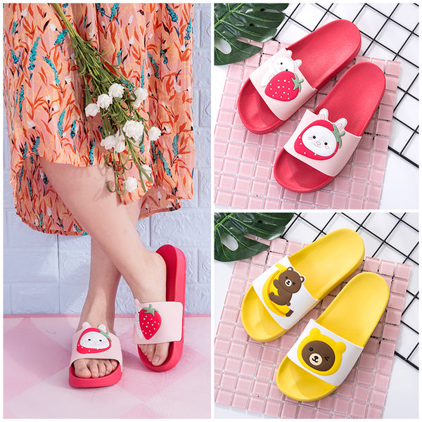 Kawaii Fruits Slippers