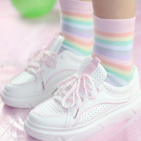 Cute Rainbow Socks