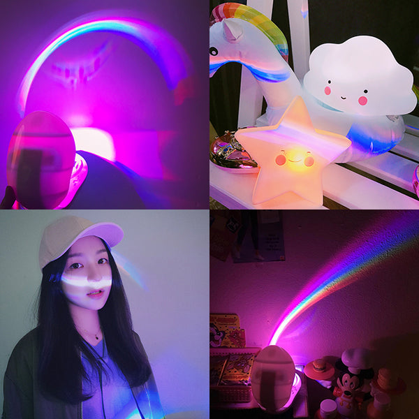 Rainbow Projector For Photograph