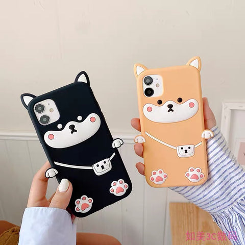 Dog Phone Case For Iphone7/7P/8/8plus/X/XS/XR/Xs max/11/11Pro/11proMax/12/12proMax/12pro
