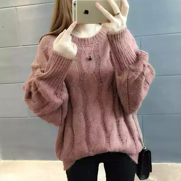 Pure Color Sweater