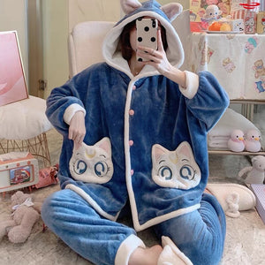 Moon Cat Pajamas