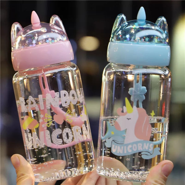Kawaii Unicorn Drinking Bottle