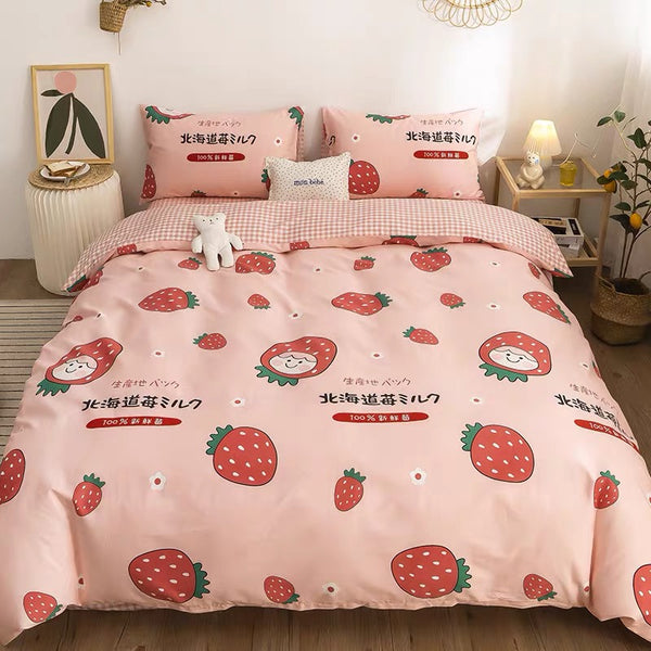 Fresh Strawberry Bedding Set