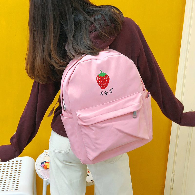 Kawaii Fruit Backpack