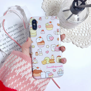 Sweet Cartoon Phone Case For Iphone6/6s/6p/7/8/7/8plus/X/XS/XR/XSmax