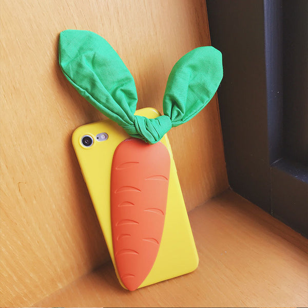 Cuddly Carrots Phone Case For Iphone6/6s/6p/7/8/7/8plus/X/XS/XR/XSmax