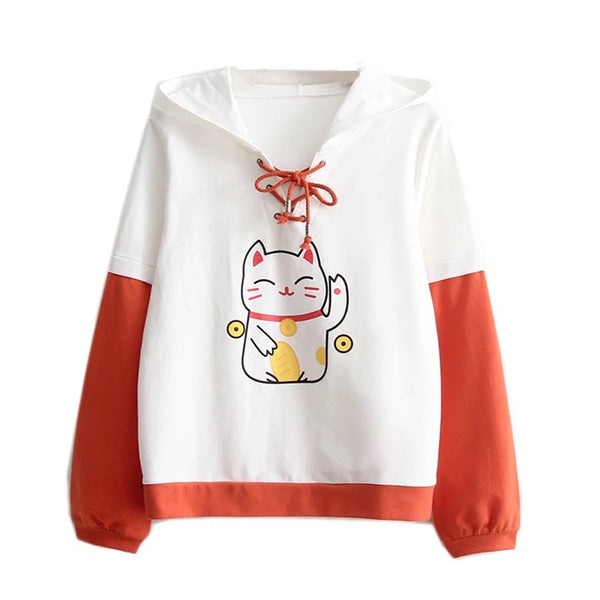 Money Cat Hoodie
