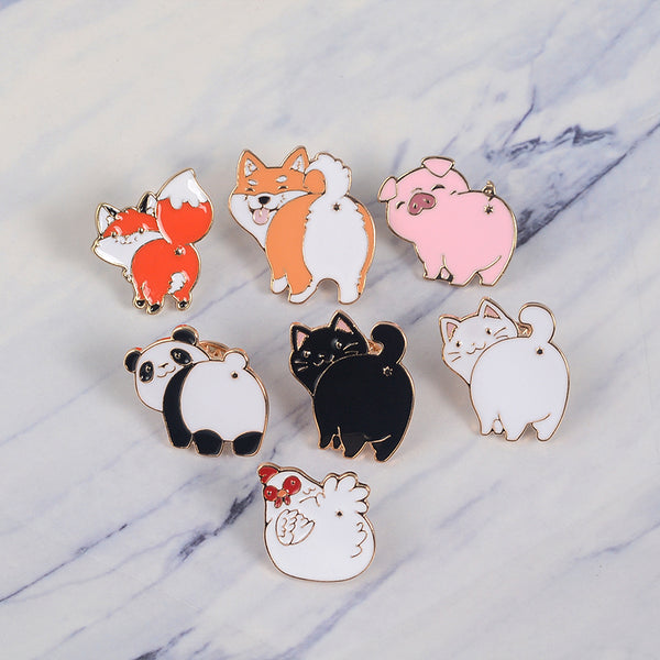 Funny Animals Pin