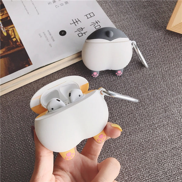 Dog Ass Airpods Protector Case For Iphone