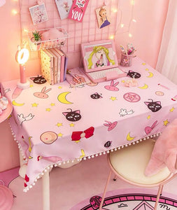Sweet Printed Tablecloth